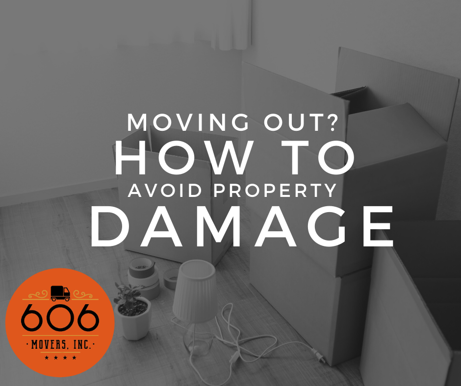 Moving out? How to avoid property damage