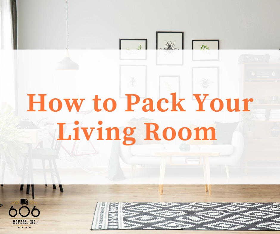 How to Pack Your Living Room